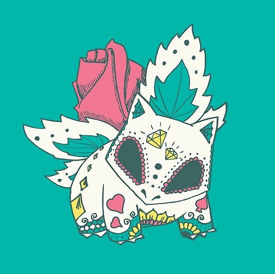 Ivysaur Pokemuerto by abowersock