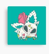 Ivysaur Pokemuerto Canvas Print