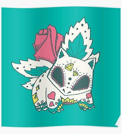Ivysaur Pokemuerto Poster