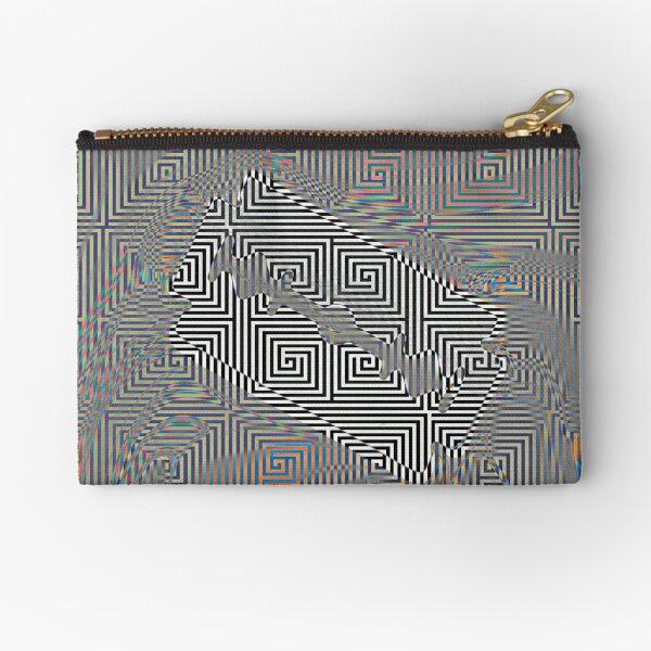 Pattern,  Motif, Visual arts Zipper Pouch