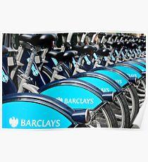 Boris Bike Blues Poster