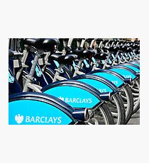 Boris Bike Blues Photographic Print