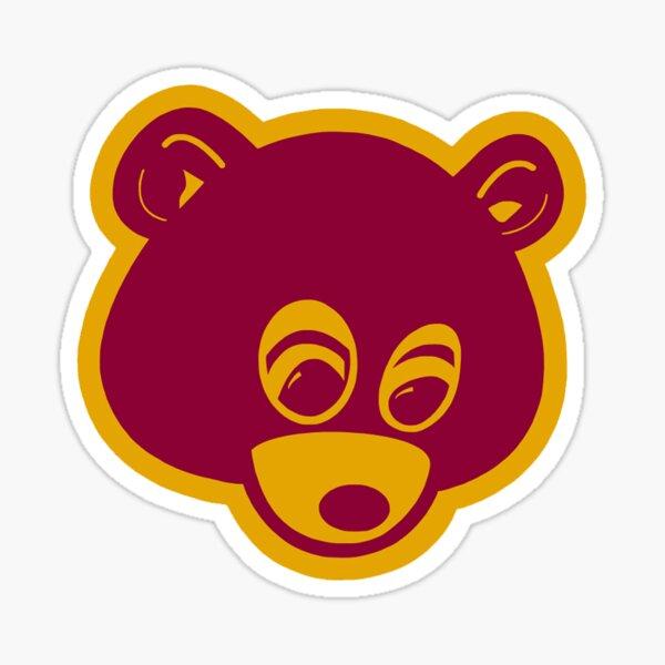pablo bear kanye Sticker