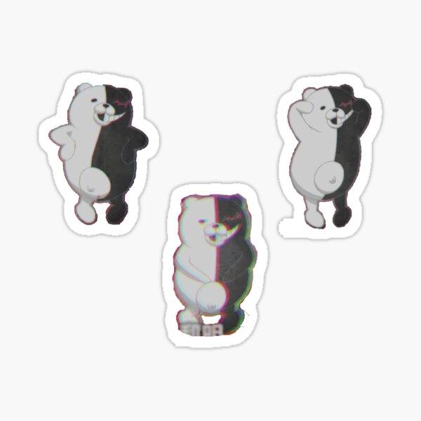 Monokuma Dance Danganronpa Sticker