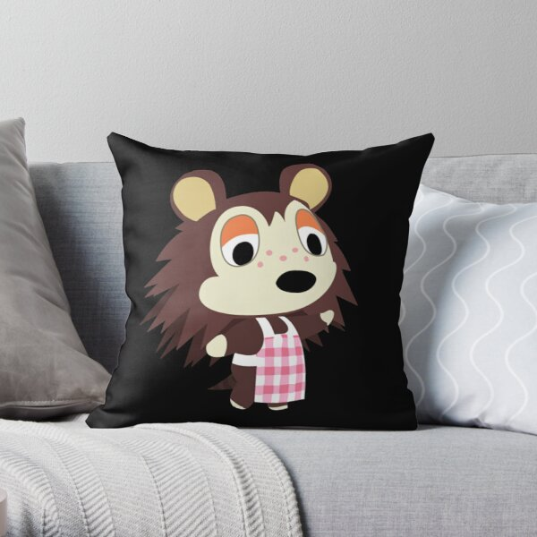 Sable Able - Animal Crossing Throw Pillow