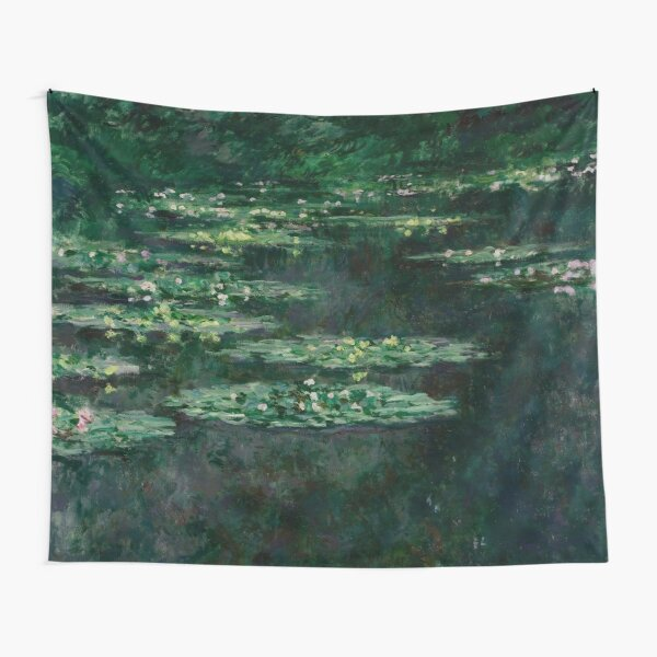Claude Monet - Nénuphars - Vert foncé Tentures