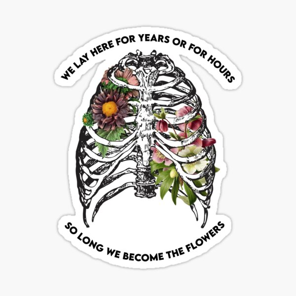 """For Years Or For Hours (""""In A Week"""" by Hozier) Sticker"""