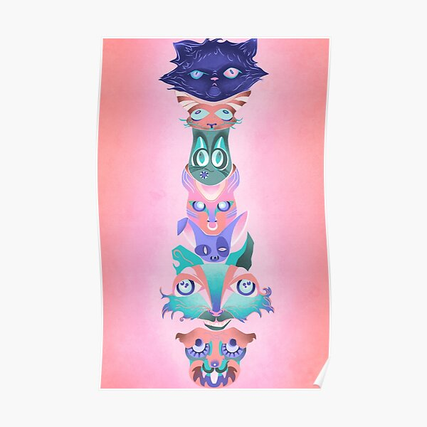 CatTotem #3 Poster