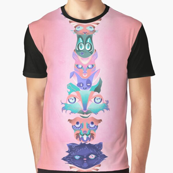 CatTotem #3 Graphic T-Shirt