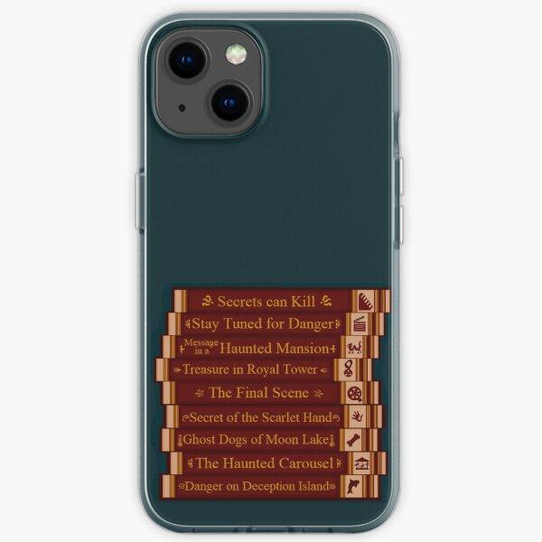 Nancy Drew Games Bookshelf iPhone Soft Case