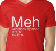 Meh Mens V-Neck T-Shirt