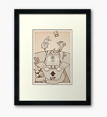Only imagination Framed Print