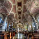 Derby Cathedral Nave - Vertorama by Yhun Suarez