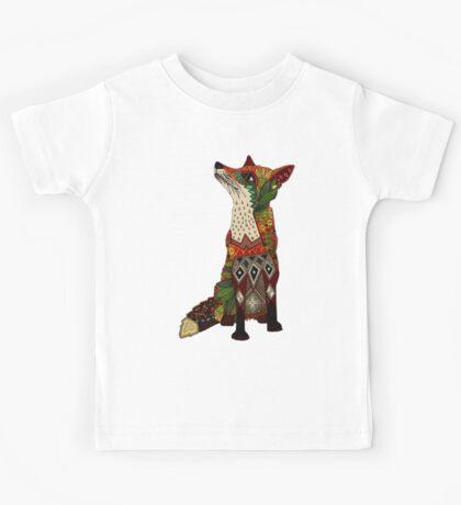 floral fox Kids Clothes