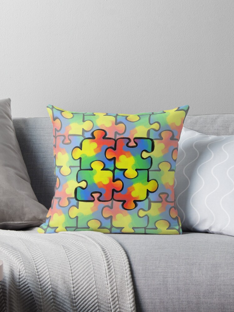 Autism Awareness Pattern 1 by Shelby Hughes