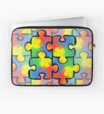 Autism Awareness Pattern 1 Laptop Sleeve