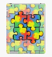 Autism Awareness Pattern 1 iPad Case/Skin