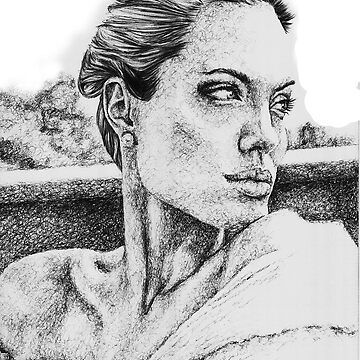Angelina Jolie by dRaCeFaCe19