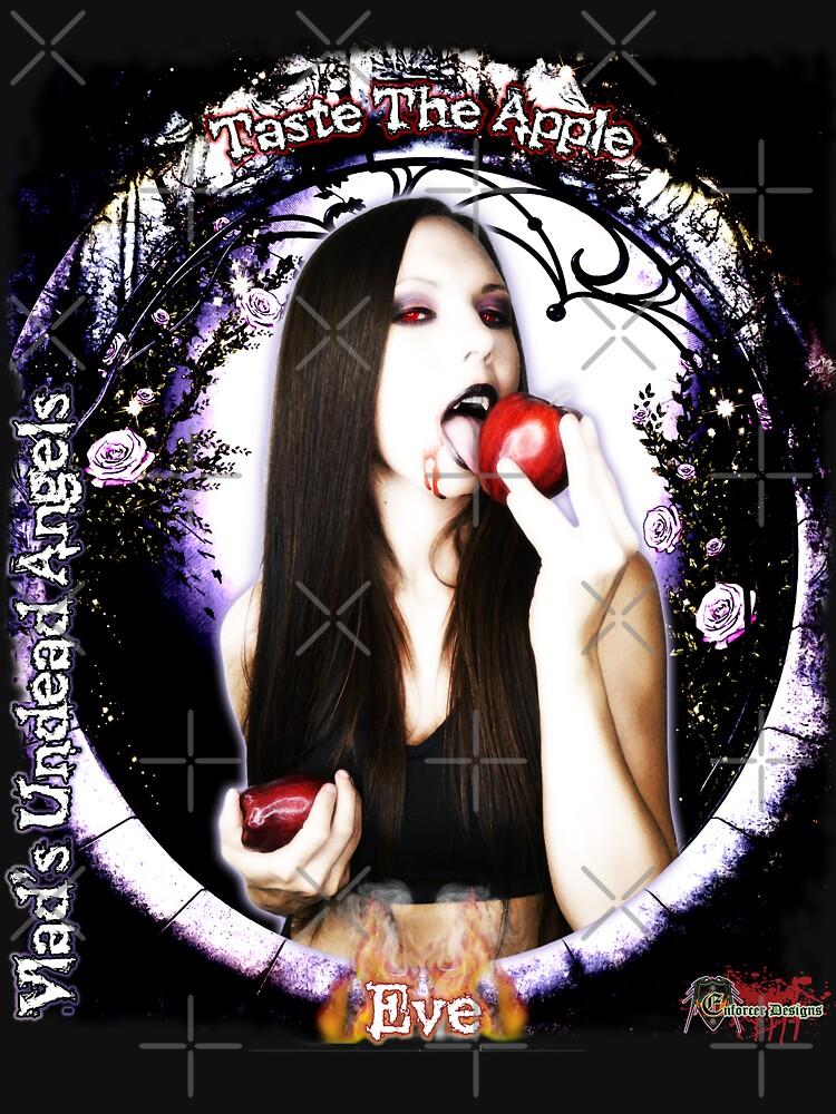 Live Undead Angels: Vampire Eve Taste The Apple by EnforcerDesigns