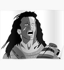 Mel Gibson Braveheart Poster