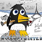 #occupywinter editorial cartoon by bubbleicious