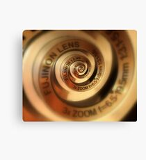 3 x Zoom Lens Canvas Print