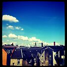 Copenhagen skyline by lukelorimer