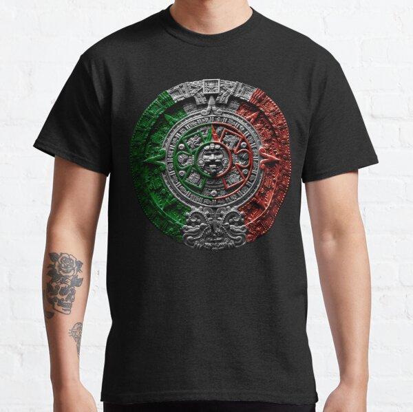 aztec calendar mexico chicano Classic T-Shirt