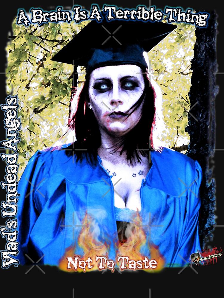 Live Undead Angels: Zombie Graduate by EnforcerDesigns