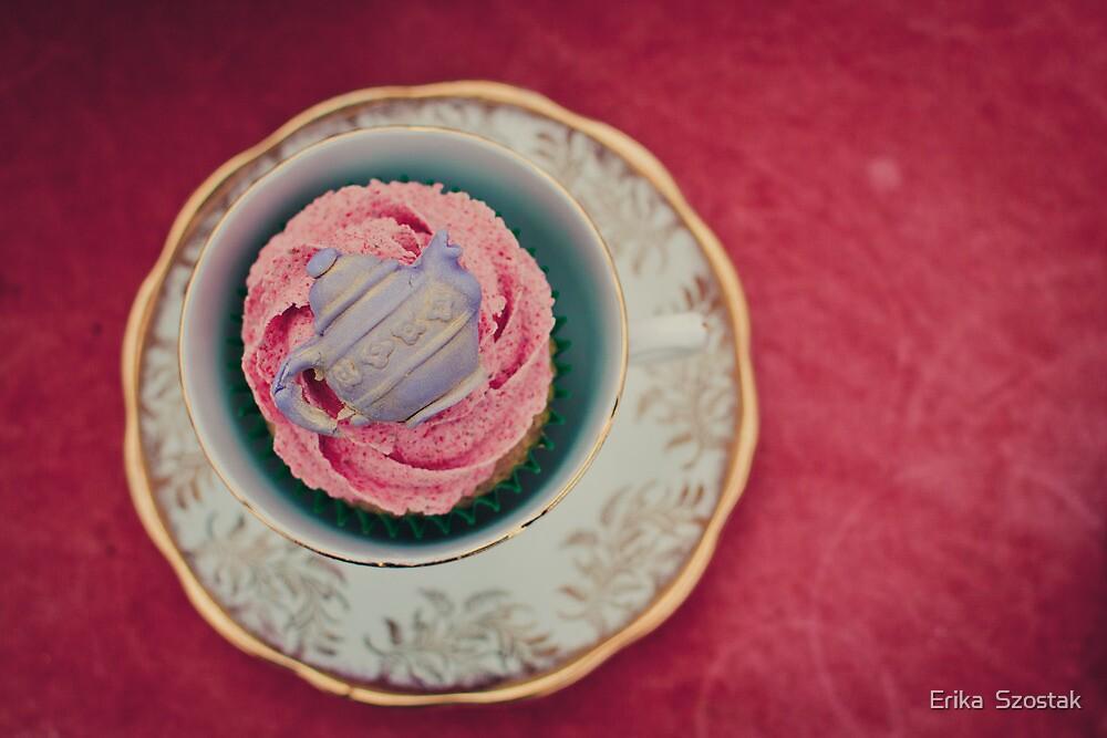 Cake in a Teacup by Erika  Szostak