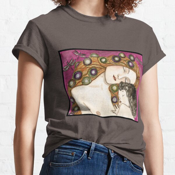 'Mother and child' my version of Klimt Classic T-Shirt