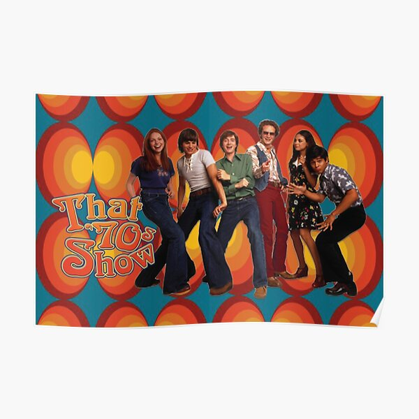 That 70s Show Circles Promo Poster