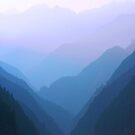 Misty Mountains by compoundeye