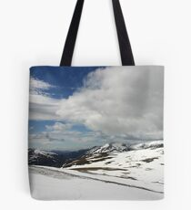 South from Bynack More, Cairngorm & Monadhliath Tote Bag
