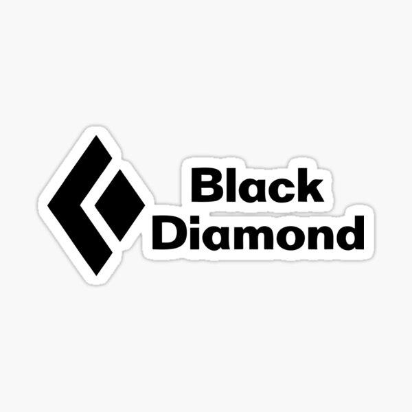 Best Seller Black Diamond Merchandise Sticker