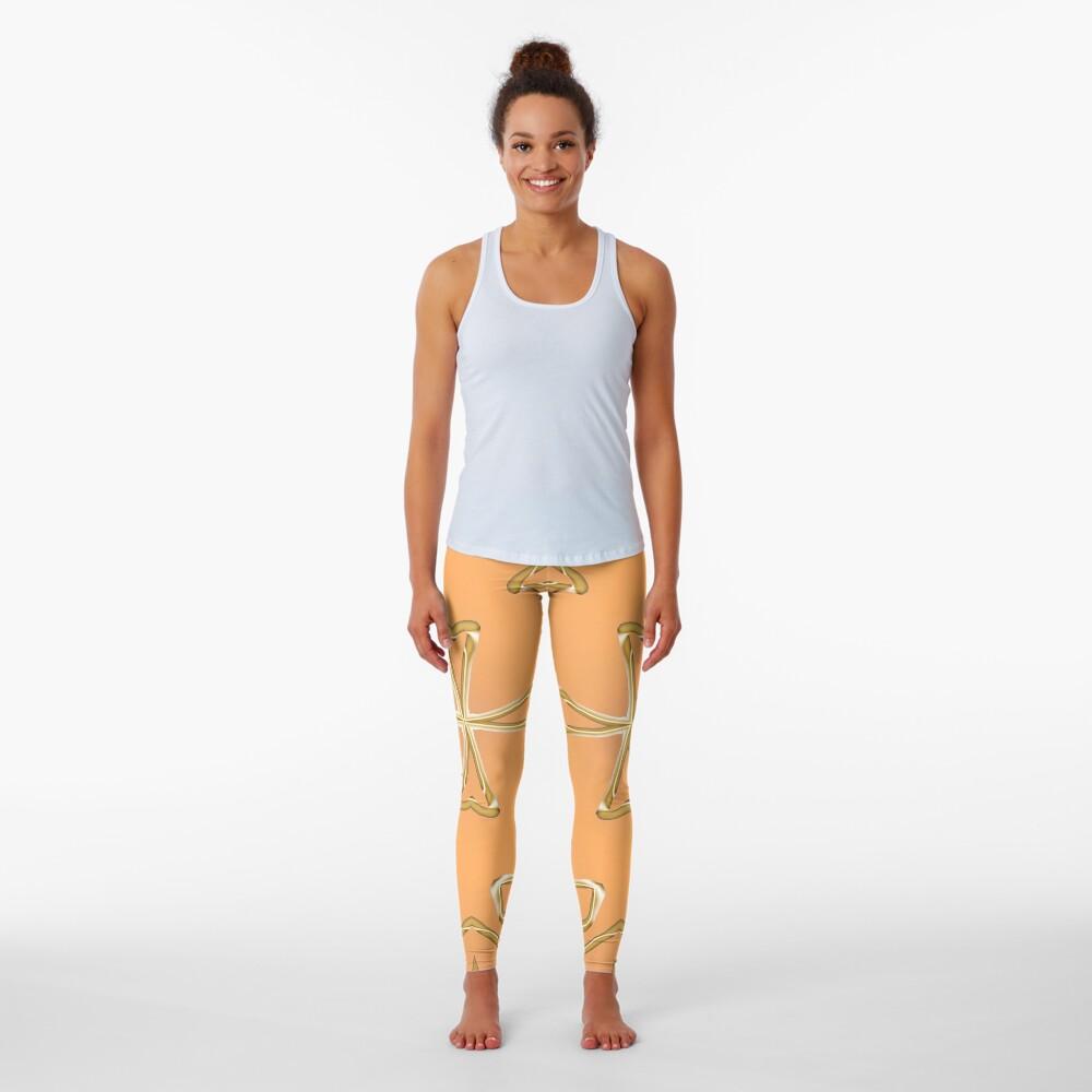 Star 3d model Leggings