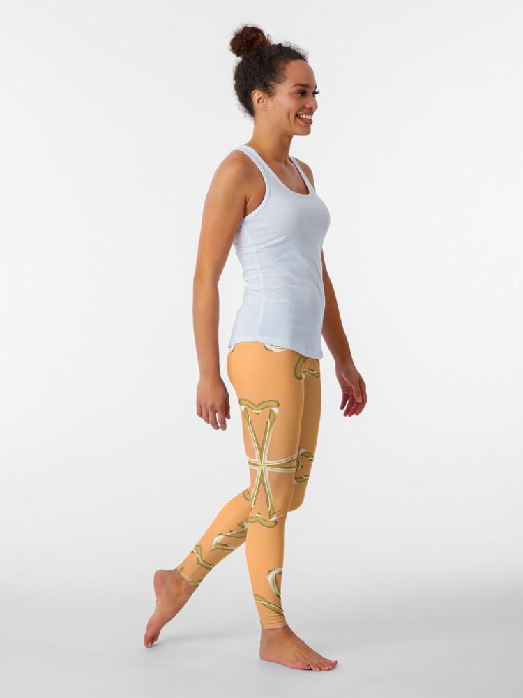 Alternate view of Star 3d model Leggings