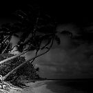 the beach of dark waters by tinncity