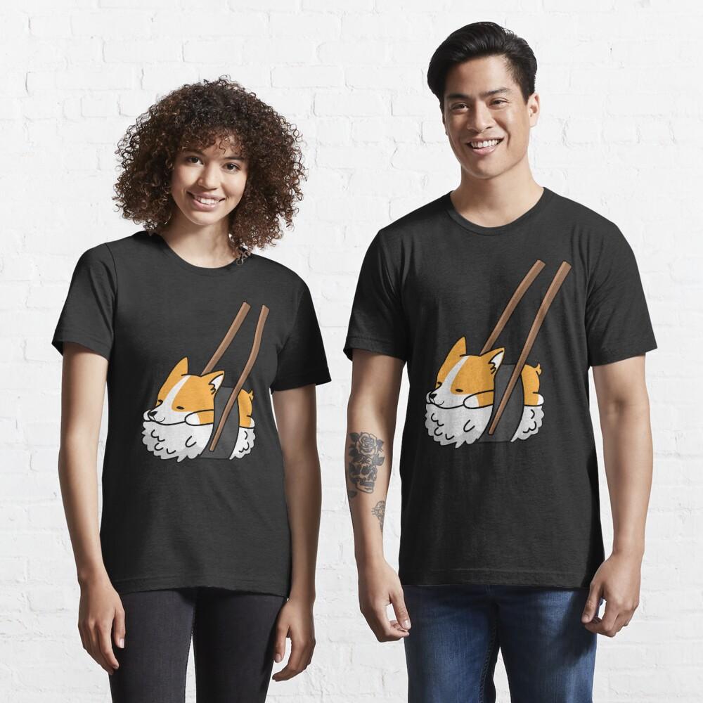 Funny Sushi Corgi Essential T-Shirt