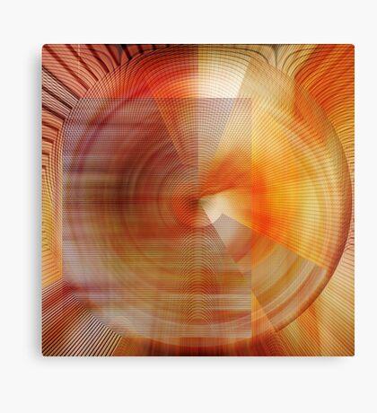 Turmoil, Radial Canvas Print