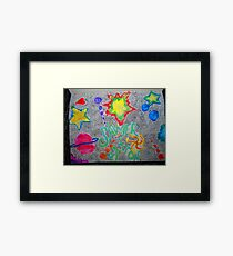 Water color for Sawyer Framed Print