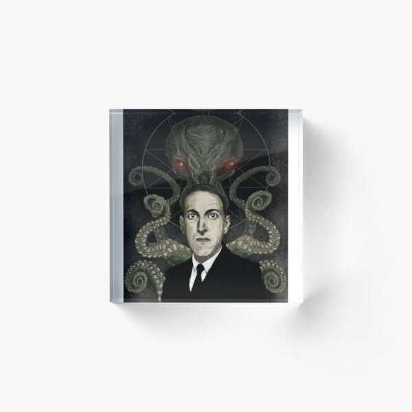 HP Lovecraft Acrylic Block