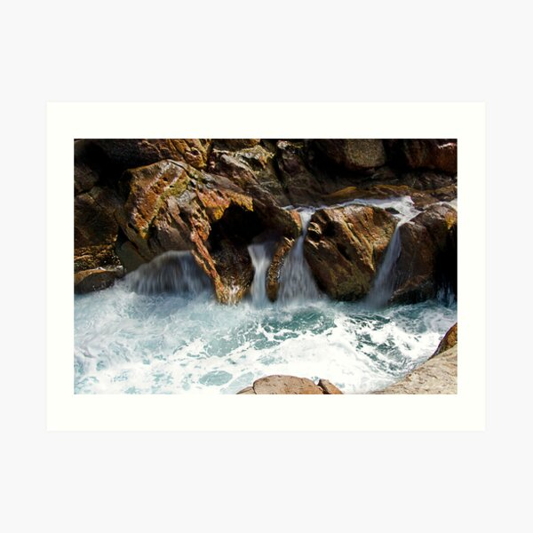 The many faces of Rock Art Print