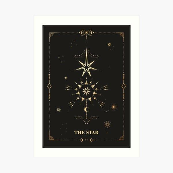 The Star Tarot Card Art Print