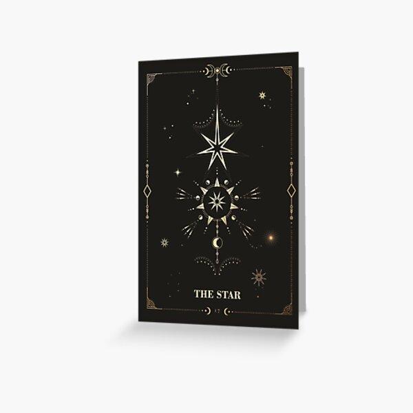 The Star Tarot Card Greeting Card