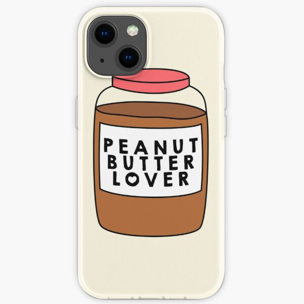 Peanut Butter Lover iPhone Soft Case
