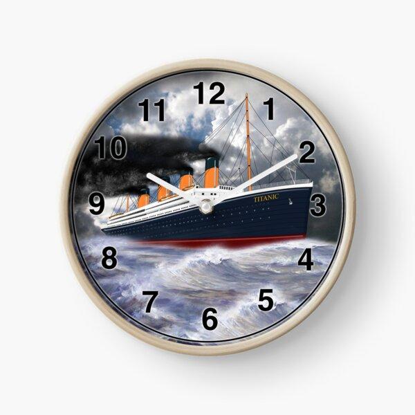 RMS Titanic the Legend 1912 Clock