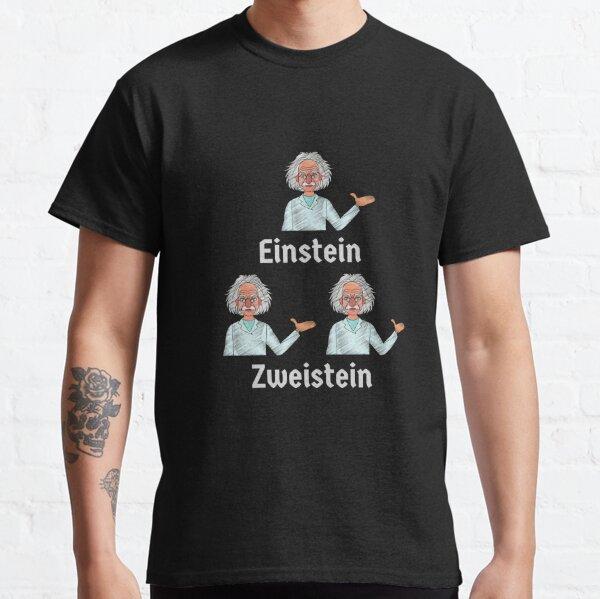 German Funny Einstein 2 Einsteins Design Classic T-Shirt