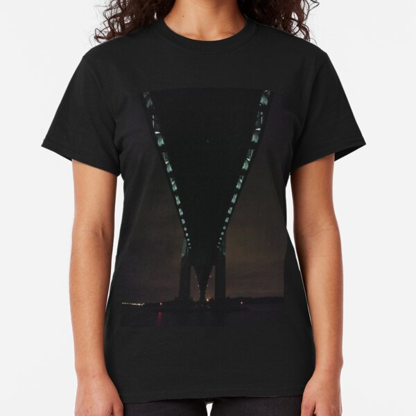 Verrazano Narrows Bridge, #Verrazano, #Narrows, #Bridge, #VerrazanoNarrowsBridge, #VerrazanoBridge, #NewYorkCity, #NewYork, #Brooklyn, #StatenIsland Classic T-Shirt
