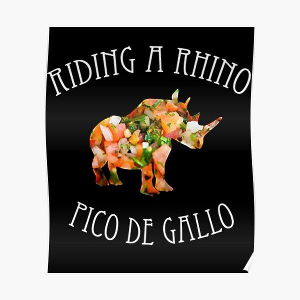 Dance Gavin Dance Riding A Rhino Pico De Gallo Poster